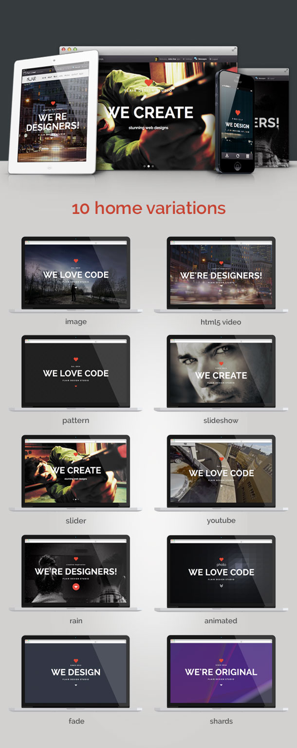 flair2 - Flair - One Page Responsive WordPress Theme