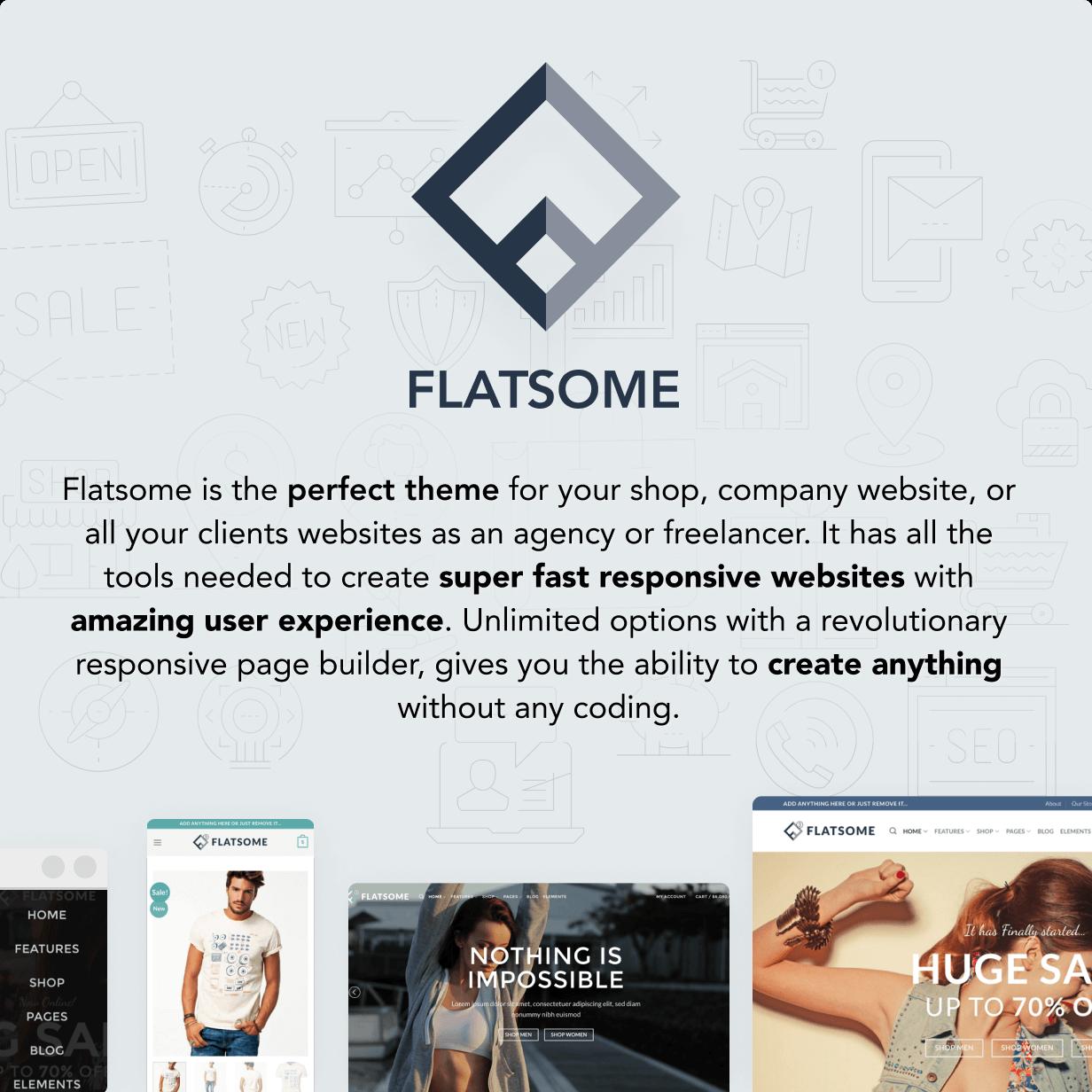 flatsome2 - Flatsome | Multi-Purpose Responsive WooCommerce Theme