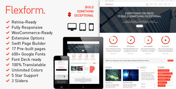 flexform - Flexform - Retina Responsive Multi-Purpose Theme