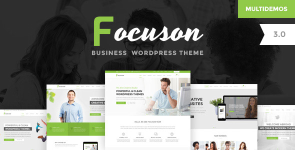 focuson business - Focuson - Business WordPress Theme