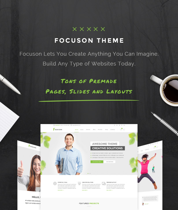 focuson business2 - Focuson - Business WordPress Theme