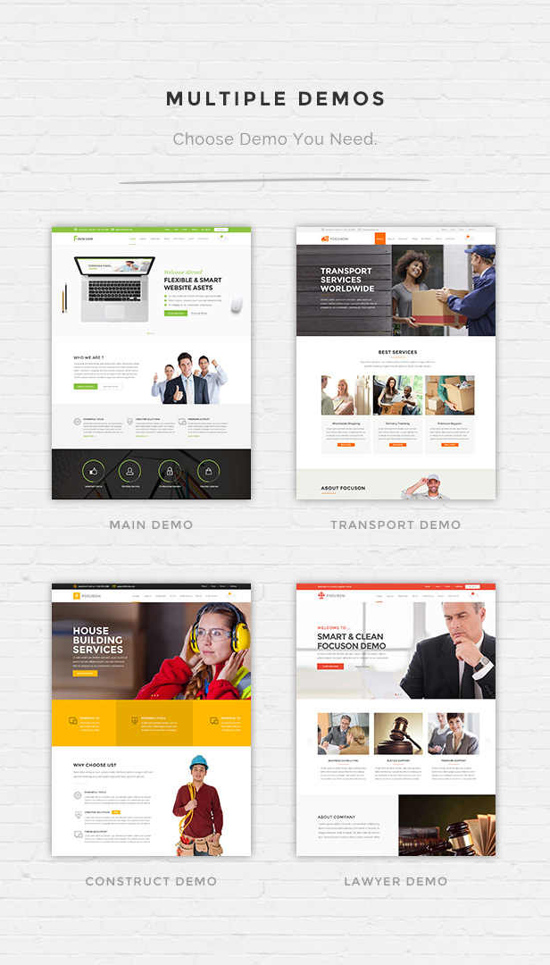 focuson business3 - Focuson - Business WordPress Theme