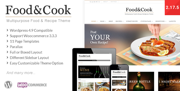 food - Food & Cook - Multipurpose Food Recipe WP Theme