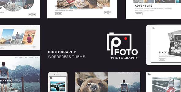foto3 - Foto - Photography WordPress Themes for Photographers