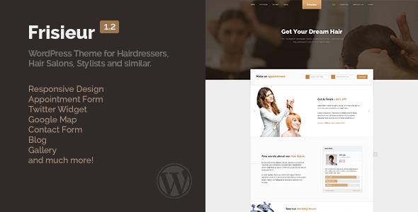 frisieur - Frisieur - WordPress Theme for Hair salons