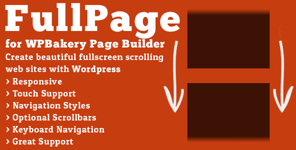 fullpage - FullPage for WPBakery Page Builder (formerly Visual Composer)