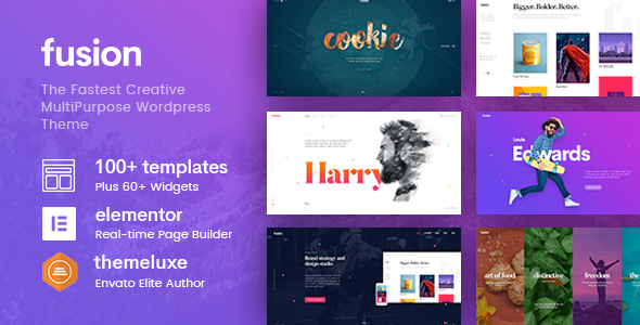 fusion 1 - Fusion - Creative Multi-Purpose WordPress Theme