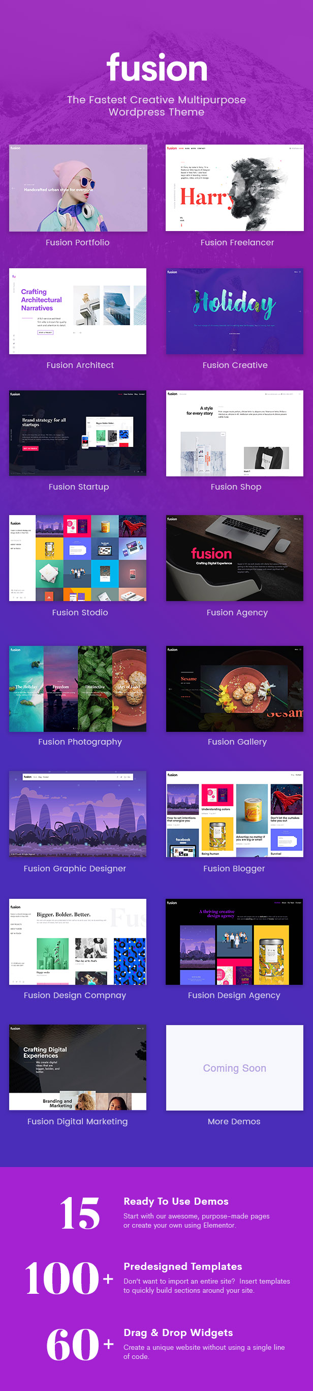 fusion2 - Fusion - Creative Multi-Purpose WordPress Theme