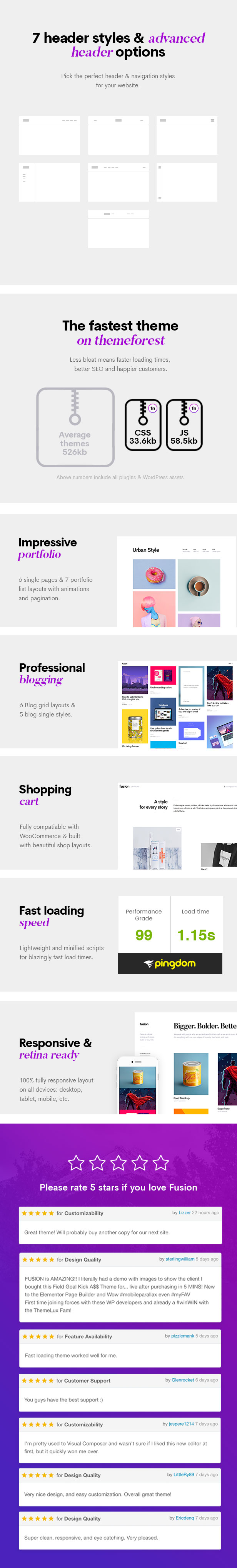 fusion4 - Fusion - Creative Multi-Purpose WordPress Theme