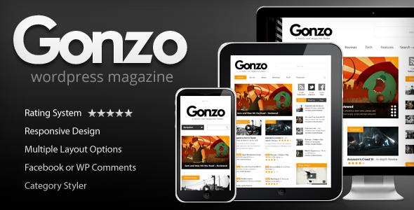 gonzo - Gonzo - Clean, Responsive WP Magazine