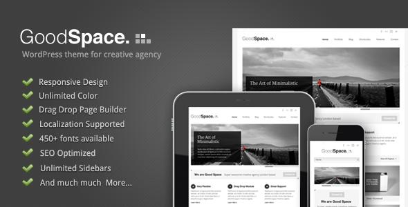 good space - Good Space - Responsive Minimal WP Theme
