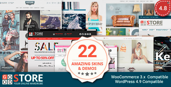goodstore - GoodStore - WooCommerce Theme