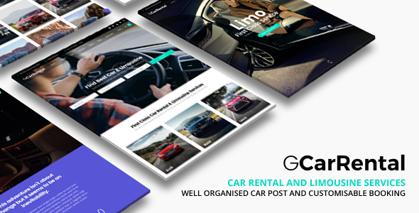 grand car - Grand Car Rental | Limousine Car Rental WordPress