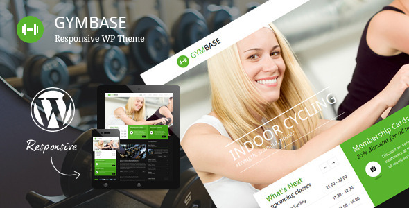 gymbase - GymBase - Responsive Gym Fitness WordPress Theme