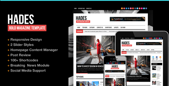 hades - News WordPress | Hades for News