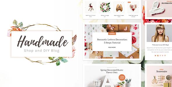 handmade - Handmade Shop - Handicraft Blog & Creative Shop WordPress Theme