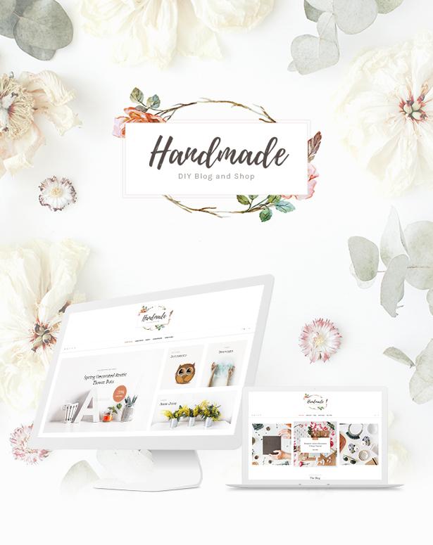 handmade2 - Handmade Shop - Handicraft Blog & Creative Shop WordPress Theme