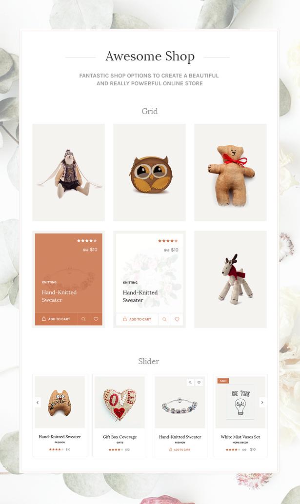 handmade3 - Handmade Shop - Handicraft Blog & Creative Shop WordPress Theme