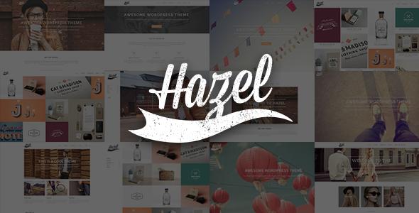 hazel - Hazel - Multi-Concept Creative WordPress Theme