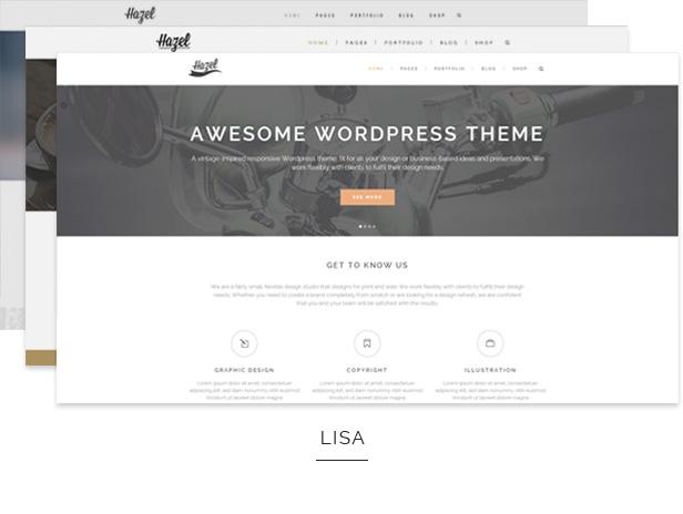 hazel4 - Hazel - Multi-Concept Creative WordPress Theme