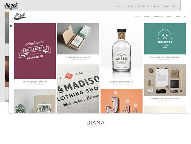 hazel8 - Hazel - Multi-Concept Creative WordPress Theme