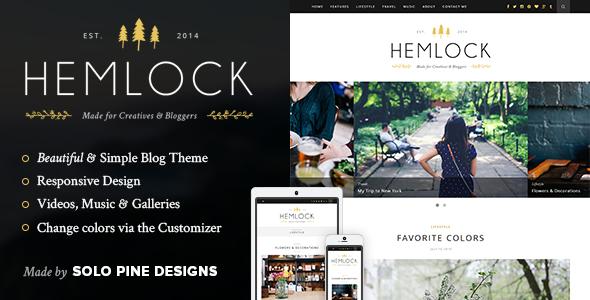 hemlock - Hemlock - A Responsive WordPress Blog Theme