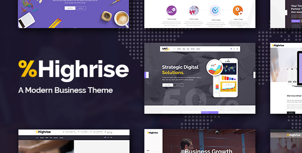 highrise - Highrise - A Theme for Modern Businesses, Corporations, and Consulting Companies