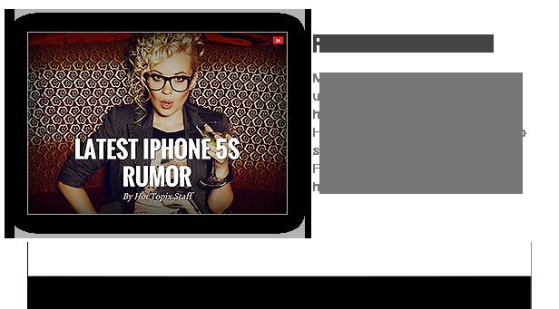 hot5 - Hot Topix - Modern WordPress Magazine Theme