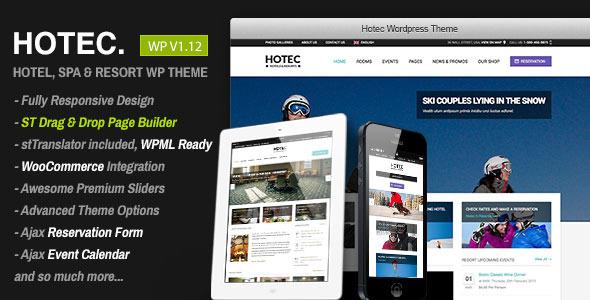 hotec - Hotec - Responsive Hotel, Spa & Resort WP Theme