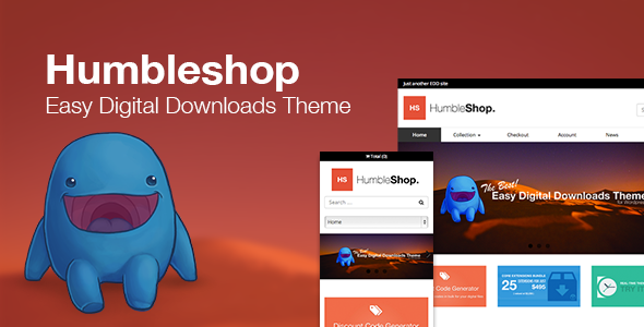 humbleshop - Humbleshop - Minimal Easy Digital Downloads Theme