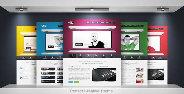 idea 3d - Idea 3D - Creative Portfolio Business WP