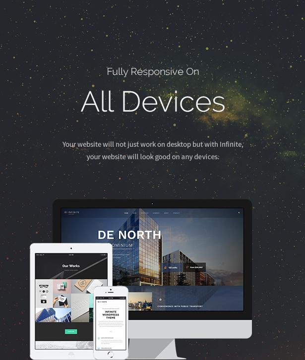 infinite8 - Infinite - Responsive Multi-Purpose WordPress Theme