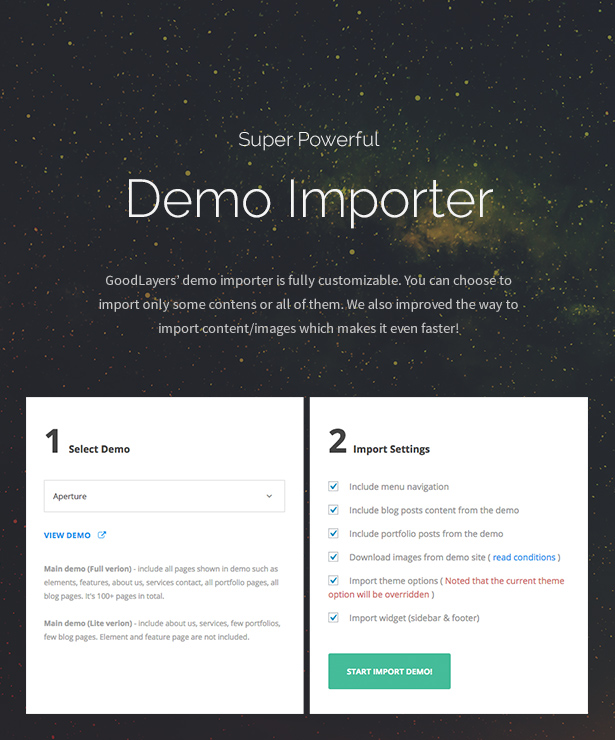 infinite9 - Infinite - Responsive Multi-Purpose WordPress Theme