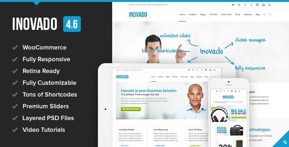 inovado - Inovado - Retina Responsive Multi-Purpose Theme