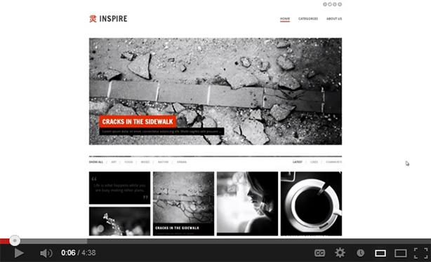 inspire6 - Inspire - A Multi-purpose, Masonry Theme