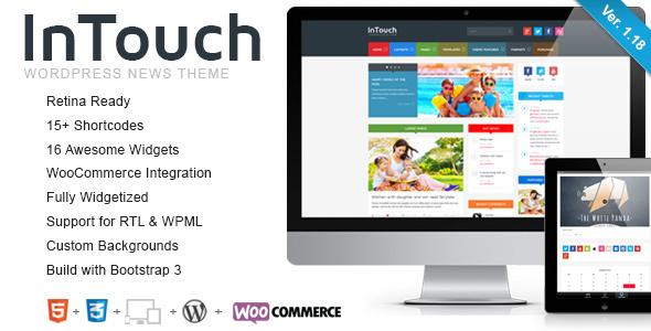 intouch - InTouch - Retina Responsive WordPress News Theme