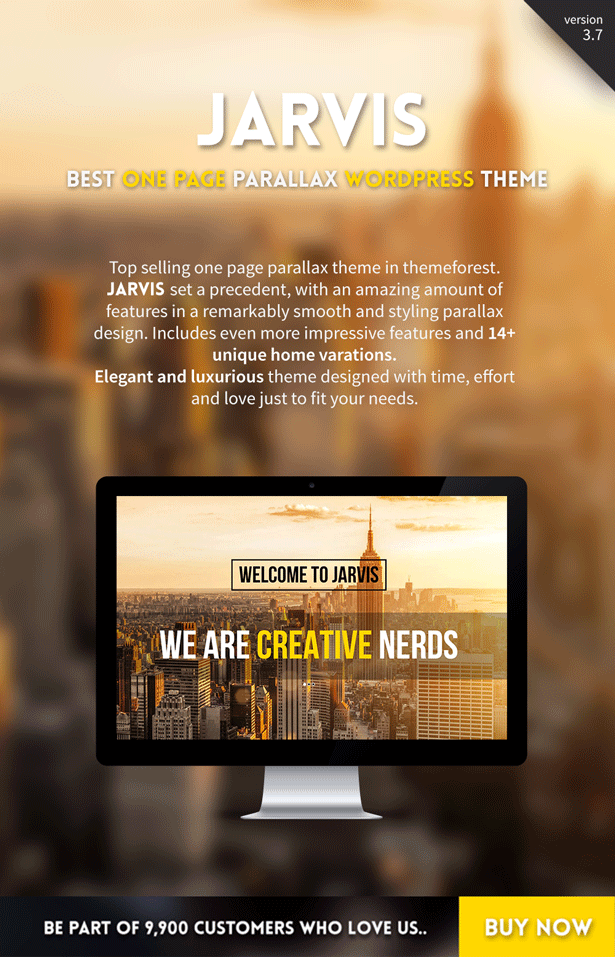 jarvis2 - Jarvis - Onepage Parallax WordPress Theme
