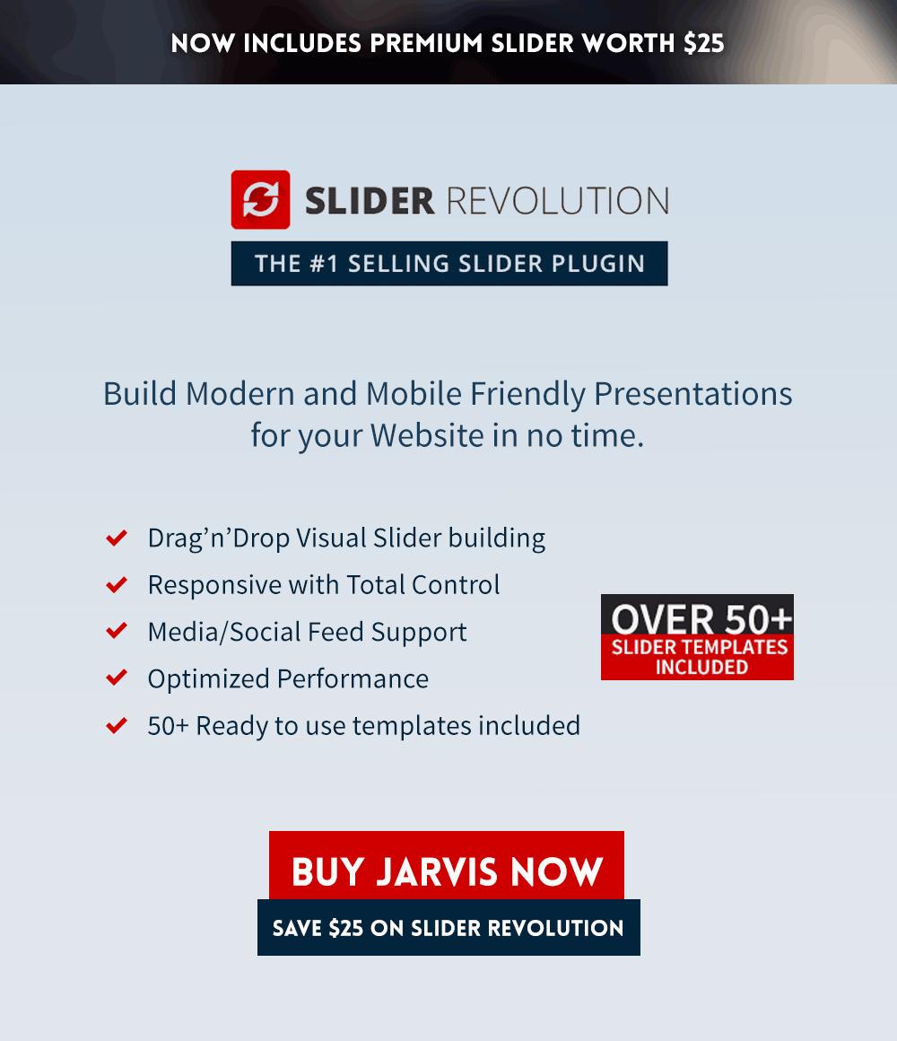 jarvis3 - Jarvis - Onepage Parallax WordPress Theme
