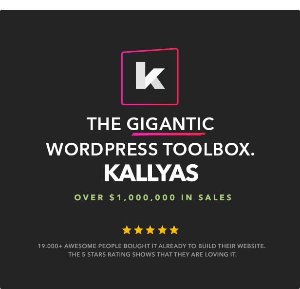 kallyas8 - KALLYAS - Creative eCommerce Multi-Purpose WordPress Theme