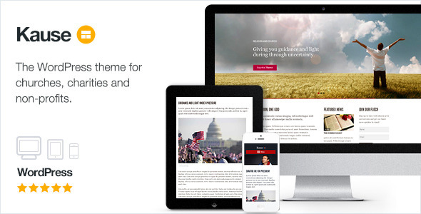 kause - Kause - Multi Purpose WordPress Theme