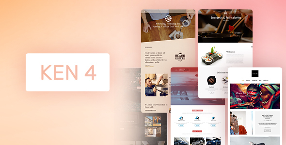 ken - The Ken - Multi-Purpose Creative WordPress Theme