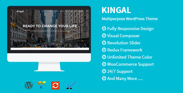 kingal - Kingal - MultiPurpose WordPress Theme