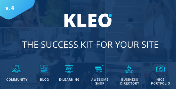 kleo - KLEO - Pro Community Focused, Multi-Purpose BuddyPress Theme
