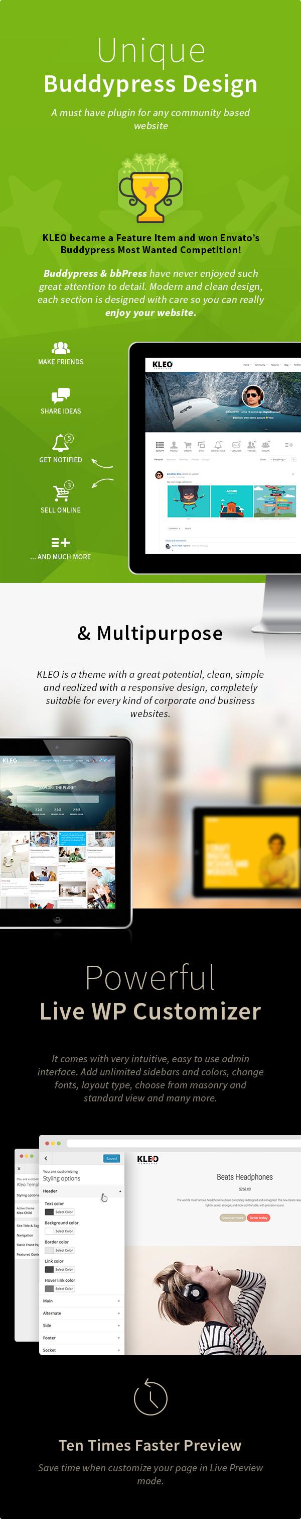 kleo7 - KLEO - Pro Community Focused, Multi-Purpose BuddyPress Theme