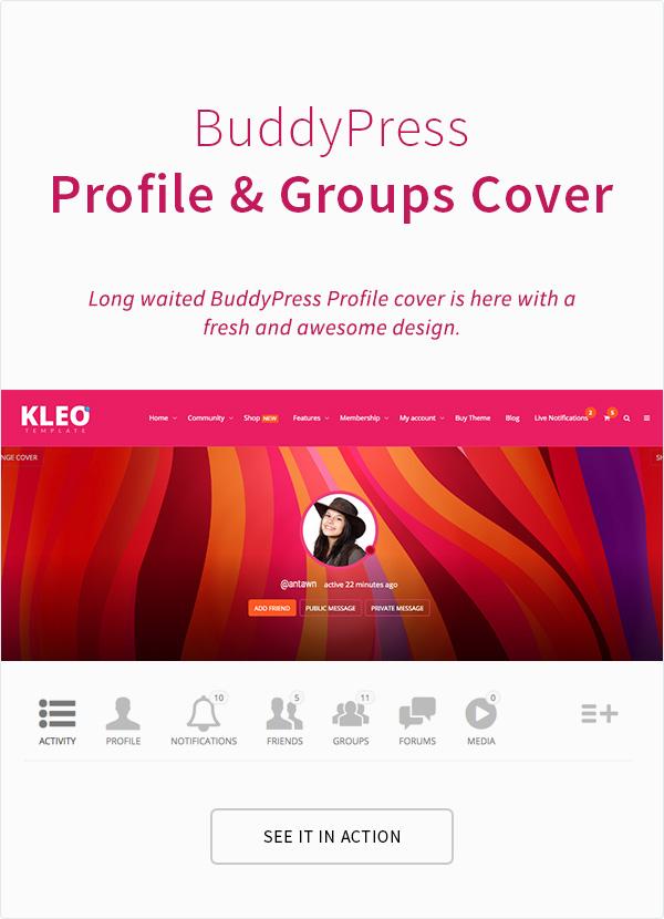 kleo9 - KLEO - Pro Community Focused, Multi-Purpose BuddyPress Theme