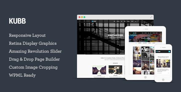 kubb - Kubb - Photography & Magazine WordPress Theme