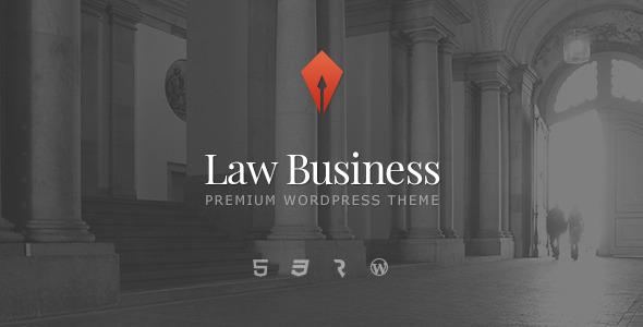 lawbusiness 1 - LawBusiness - Attorney & Lawyer WordPress Theme