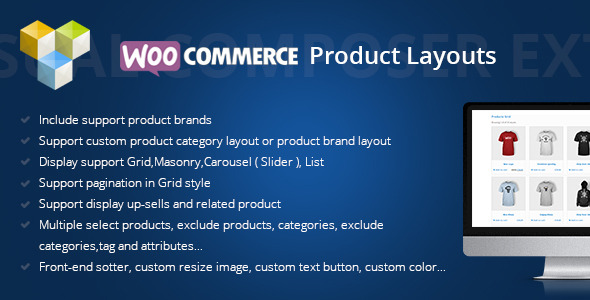 layouts - Woocommerce Products Layouts