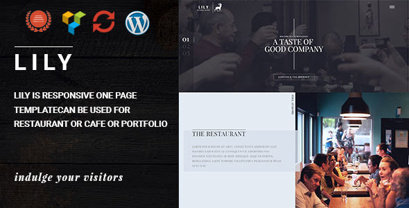 lily - Lily | One Page Restaurant WordPress Theme