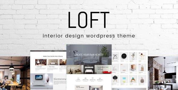 loft - Loft - Interior Design WordPress Theme